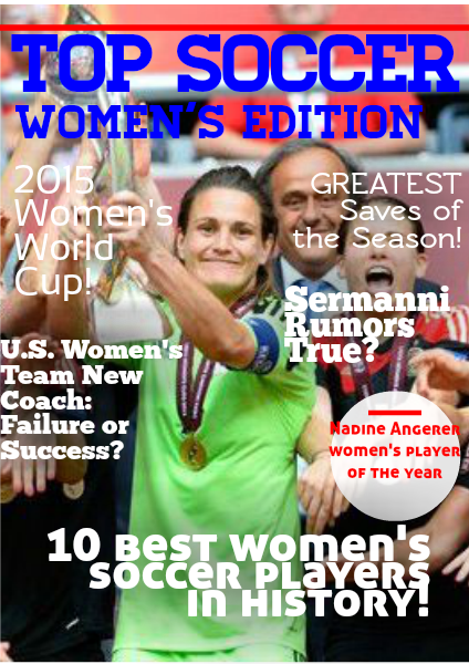 Women's Soccer (May, 2014)