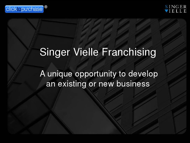 Singer Vielle Franchising vol 1