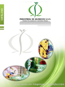 Catálogo Productos Industrial de Químicos S.A.S