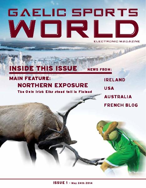 GAELIC SPORTS WORLD Sample Issue 1, May 24, 2014