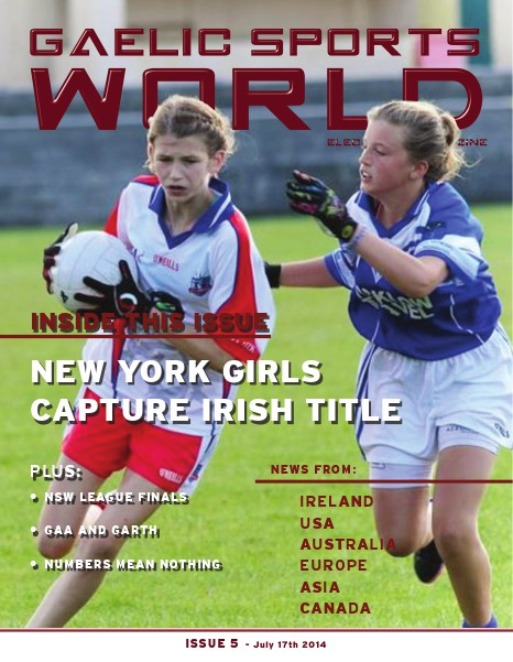 Issue 5 - July 17, 2014