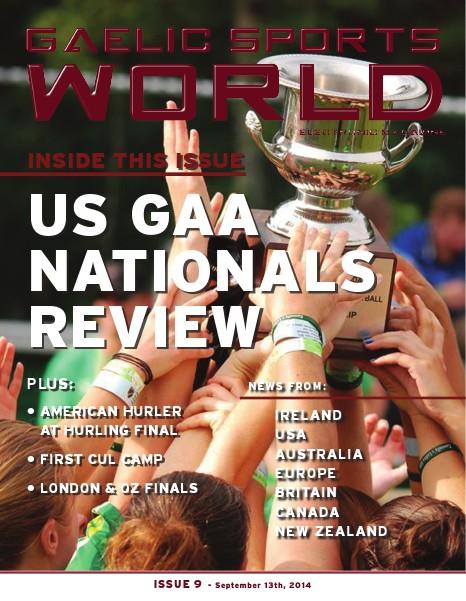 GAELIC SPORTS WORLD Issue 9, Sept 13, 2014