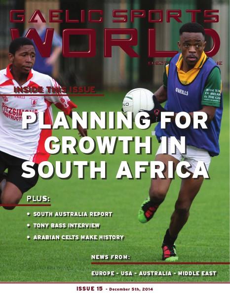 Issue 15 - December 5, 2014