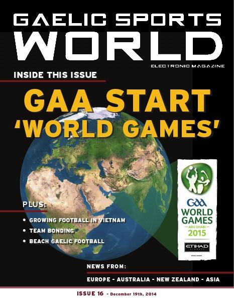 Issue 16 - December 19, 2014