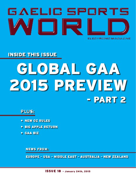 Issue 18 – January 24, 2015
