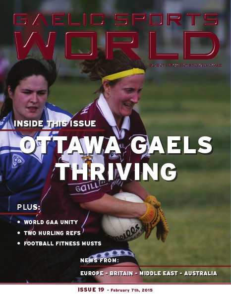 Issue 19 – February 7, 2015