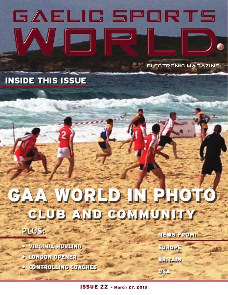 Issue 22 – March 27, 2015
