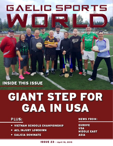 Issue 23 – April 10, 2015