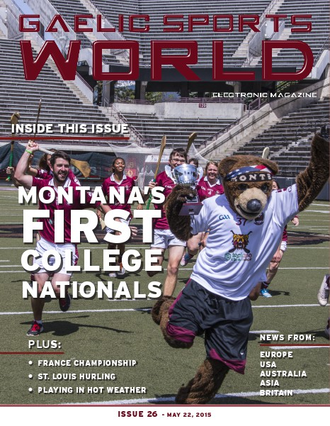 Issue 26 – May 22, 2015