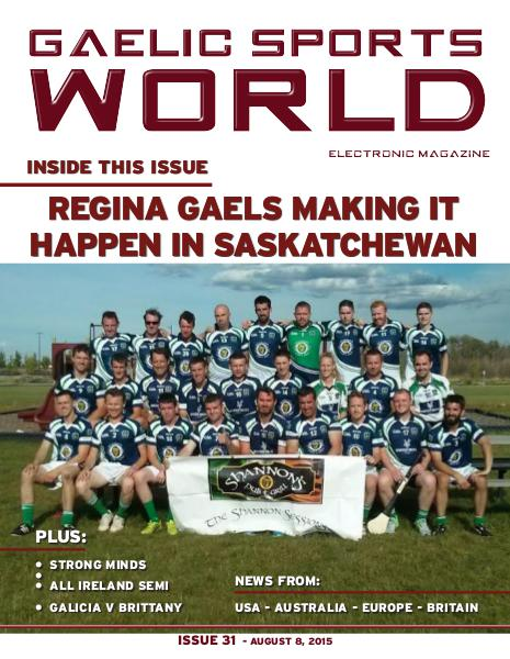 Issue 31 – August 8, 2015