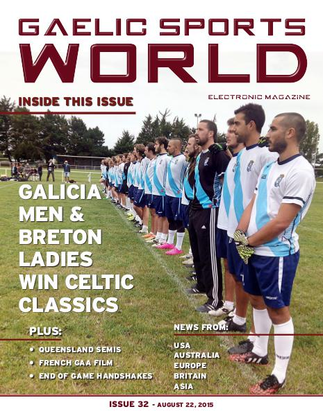 Issue 32 – August 22, 2015