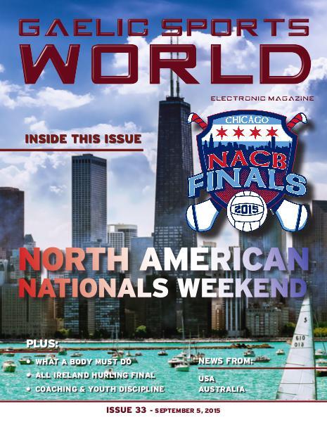 Issue 33 – September 4, 2015