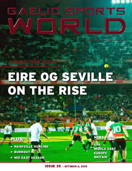 Issue 35 – October 6, 2015