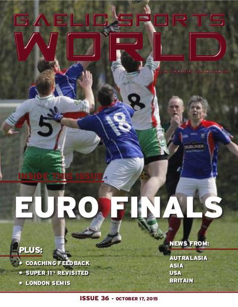 Issue 36 - October 17, 2015