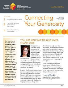 Connecting Your Generosity - Vol 5 (Summer 2016)
