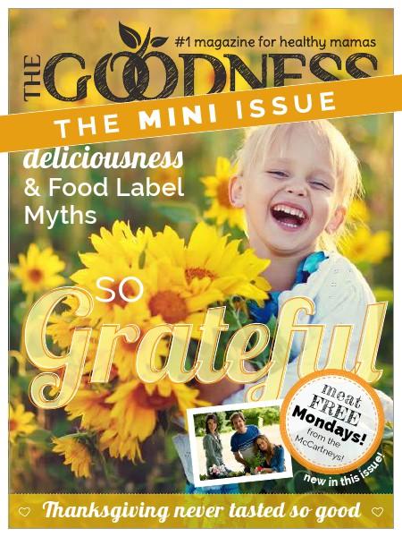 The Goodness Magazine Mini Issue