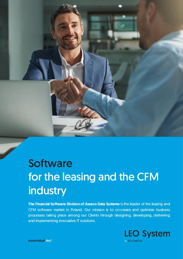 Software for the leasing and the CFM industry leo_broszura_en_web