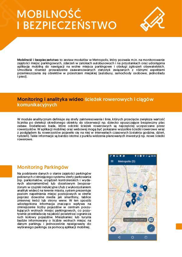 Metropolis – Mobilność i Bezpieczeństwo