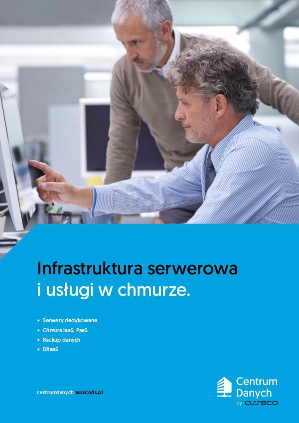 Infrastruktura serwerowa i usługi w chmurze. Infrastruktura ser werowa i usługi w chmurze.