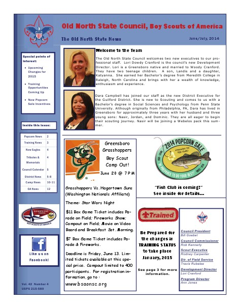 The Old North State News June/July 2014
