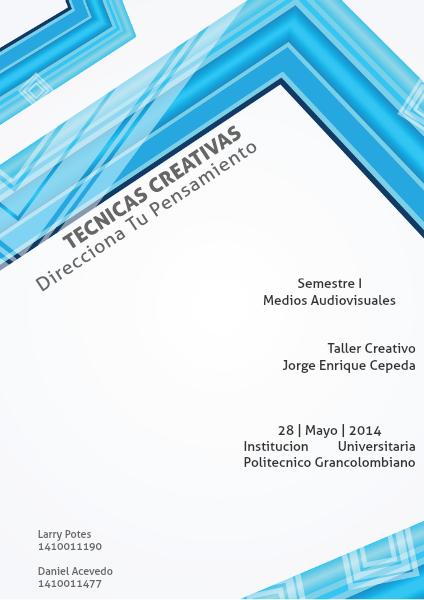 Tecnicas Creativas Politecnico Grancolombiano