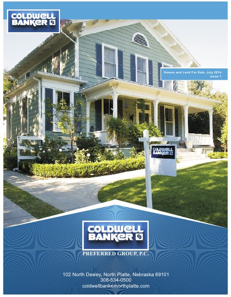Coldwell Banker North Platte Homes and Land For Sale July 2014 Edition