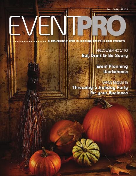 EventPro Magazine Fall 2014 Fall 2014