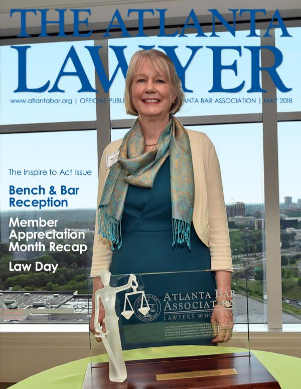 The Atlanta Lawyer May 2018