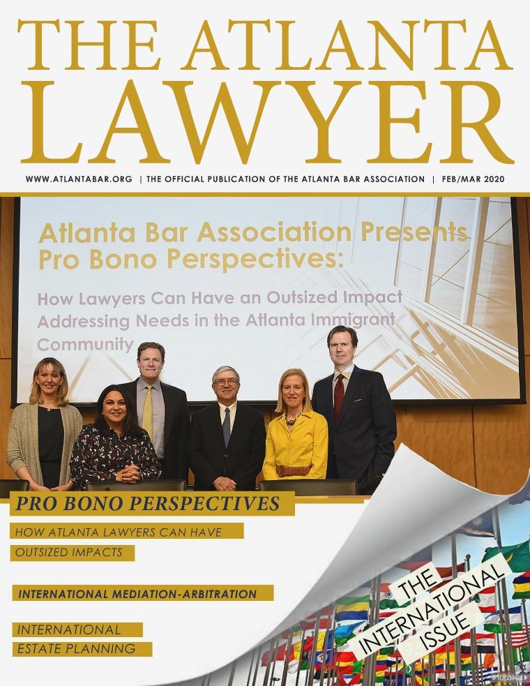 The Atlanta Lawyer February/March 2020
