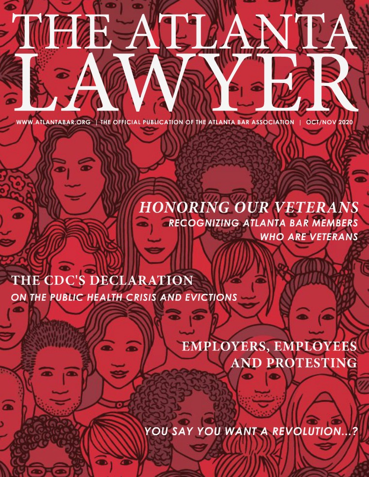 The Atlanta Lawyer October/November 2020 Vol. 19, No. 3