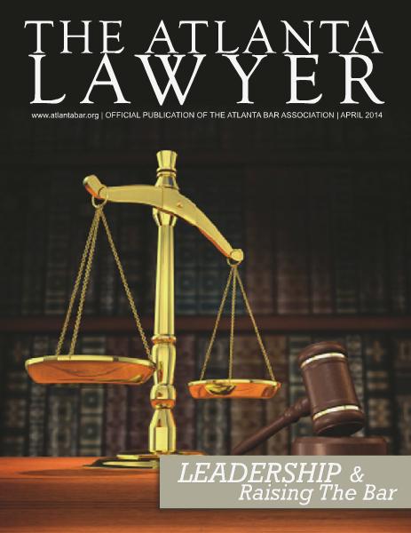 The Atlanta Lawyer April 2014