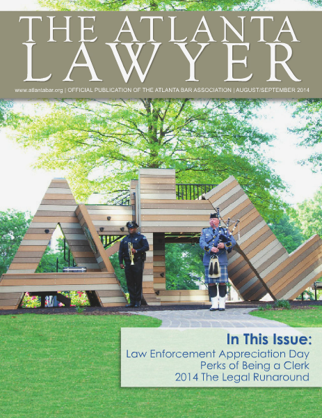 The Atlanta Lawyer August/September 2014