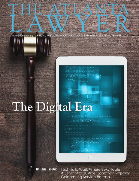 The Atlanta Lawyer November 2014