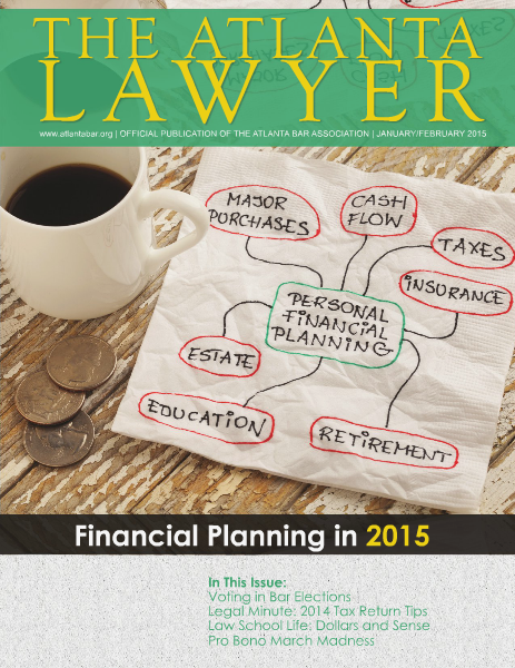 The Atlanta Lawyer January/February 2015