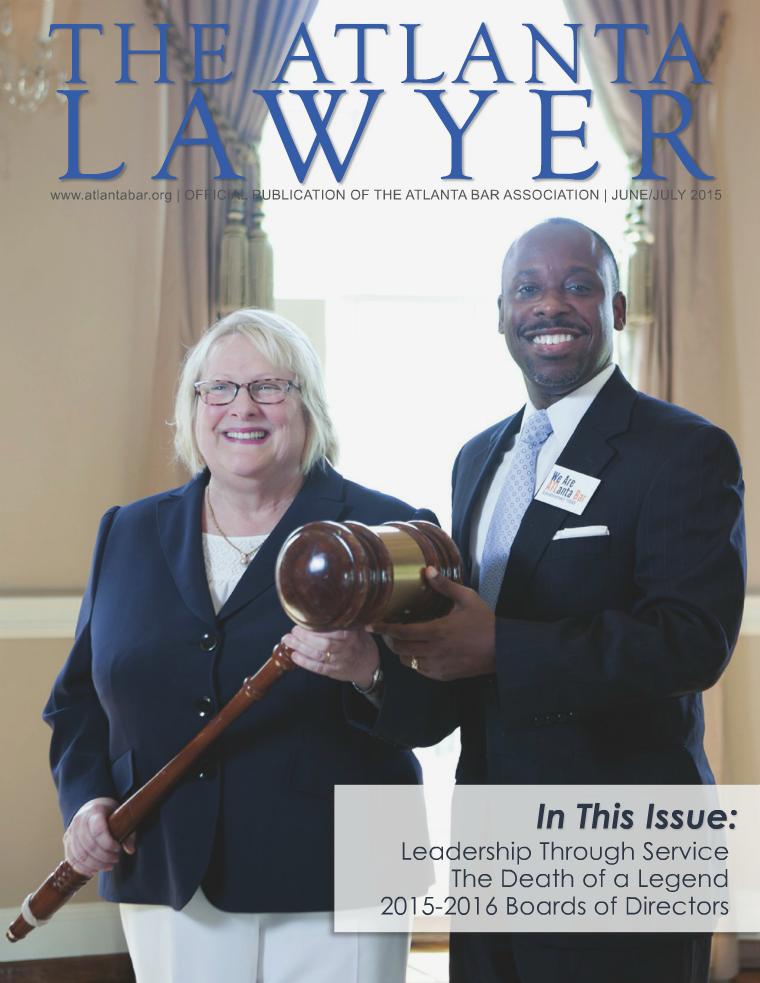 The Atlanta Lawyer June/July 2015