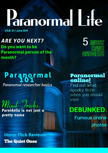 Paranormal Life June 2014
