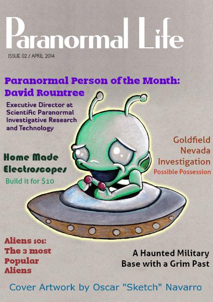 Paranormal Life Aug 2014
