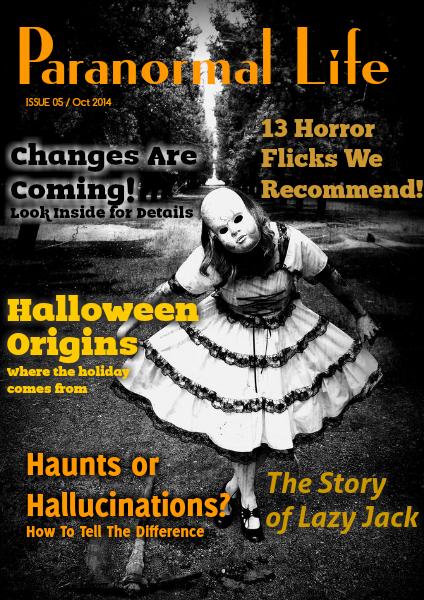 Paranormal Life Oct 2014