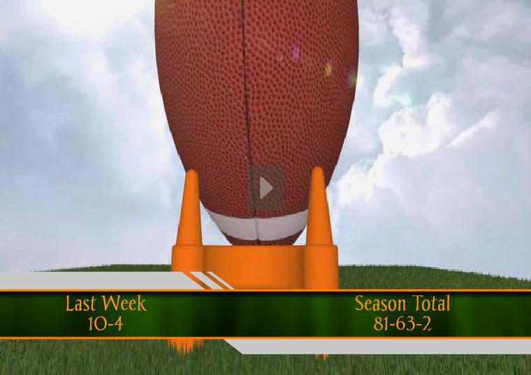 Eros Islander NFL Picks Week #1 Week #11