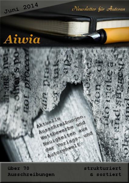 Aiwia - Newsletter für Autoren Juni 2014