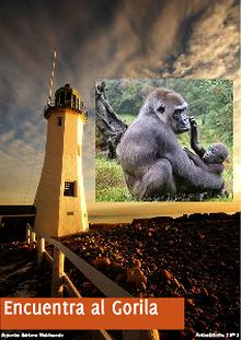 Encuentra al Gorila