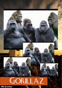 GORILLAZ Vol.1 Sep.2012