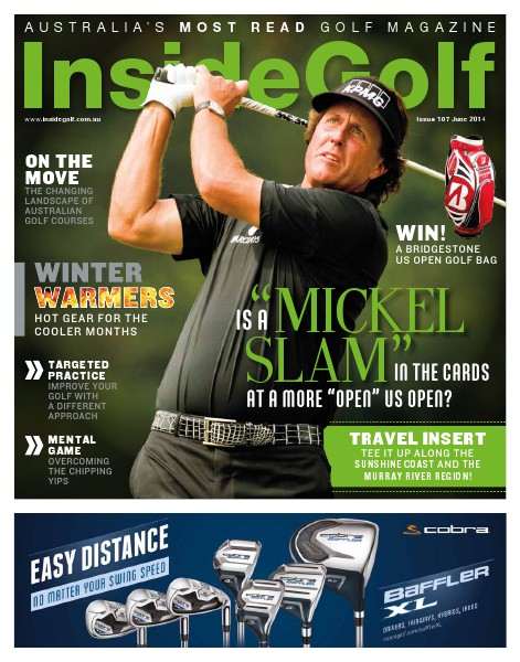 Inside Golf, Australia. June 2014