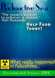 Radioactive Sea June 2014