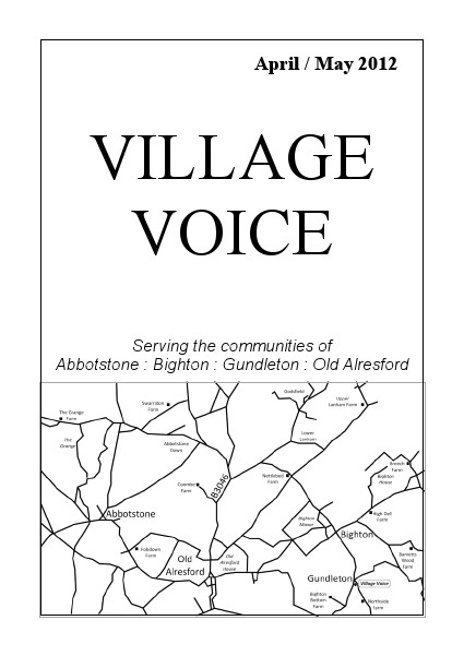 Village Voice April/May 2012