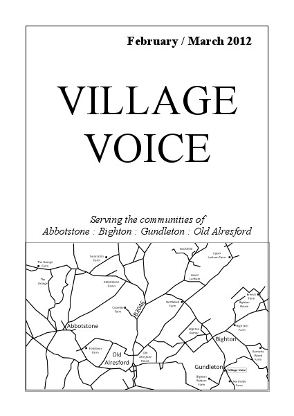 Village Voice February/March 2012