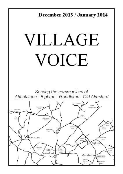 Village Voice December 2013/January 2014