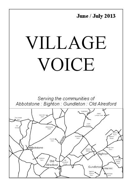 Village Voice June/July 2013