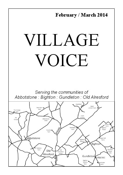Village Voice February/March 2014