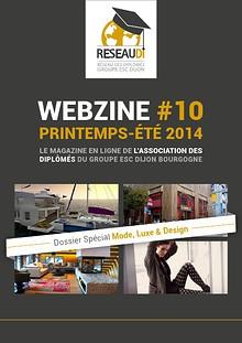 Webzine ReseauDi #10 - Printemps-Été 2014